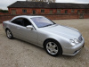 MERCEDES CL500 2004 - COVERED 59K KLM / 36K MILES FROM NEW WITH FSH -  1 OVERSEAS OWNER FROM NEW - FINISHED IN METALLIC SILVER WITH GRANITE GREY HIDE INTERIOR  - STUNNING