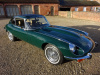 JAGUAR E-TYPE SERIES 3 V12 2+2 COUPE AUTO 1971 - COVERED 19,912 MILES FROM NEW - IN SHOW CONDITION - FINISHED IN BRITISH RACING GREEN COACHWORK, CHROME WIRE WHEELS/NEW TYRES/FULL SUNROOF & BEIGE HIDE INTERIOR - THIS CAR IS ABSOLUTELY STUNNING
