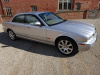 JAGUAR XJ8 4.2 V8 SE LWB AUTO 2003 - COVERED 31K KLM / 19K MILES FROM NEW - 1 OVERSEAS OWNER FROM NEW - FINISHED IN  PLATINUM METALLIC SILVER WITH SAND HIDE INTERIOR - STUNNING