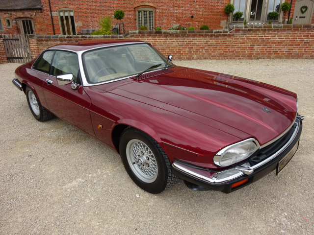 JAGUAR XJS 4.0 AUTO (JUNE) 1992 COVERED  34K MILES FROM NEW WITH 1 OVERSEAS (JAPAN) OWNER FROM NEW -