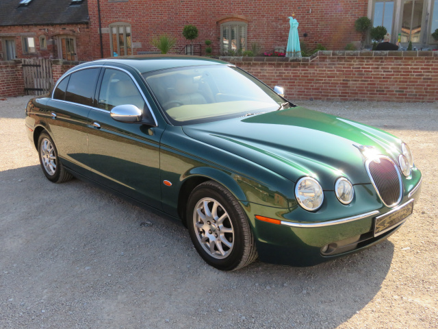 BEING PREPARED FOR SALE - JAGUAR S TYPE 2500CC AUTO - 2005 - COVERED 15K MILES / 24K KLM FROM NEW WI