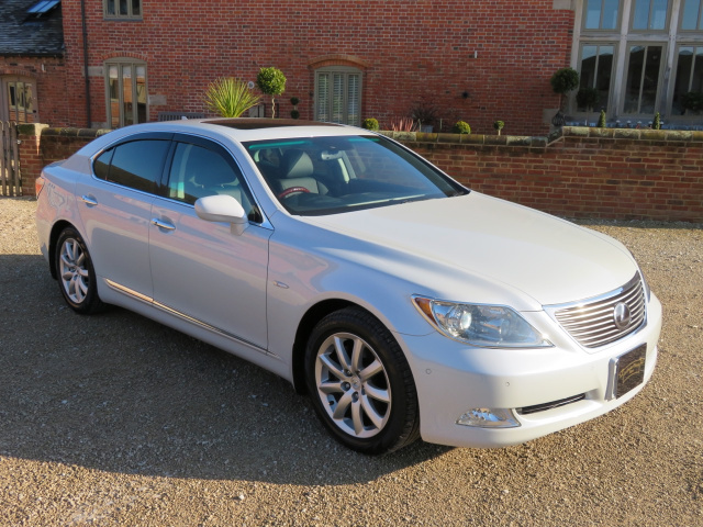 LEXUS LS 460L - 2006 - COVERED ONLY 7K MILES / 12K KLM FROM NEW WITH 1 OVERSEAS OWNER (JAPAN) FROM N