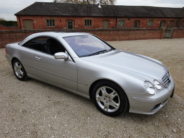SOLD -  SOLD -   SOLD  -   MERCEDES CL500 2004 - COVERED 59K KLM / 36K MILES FROM NEW WITH SERVICE H