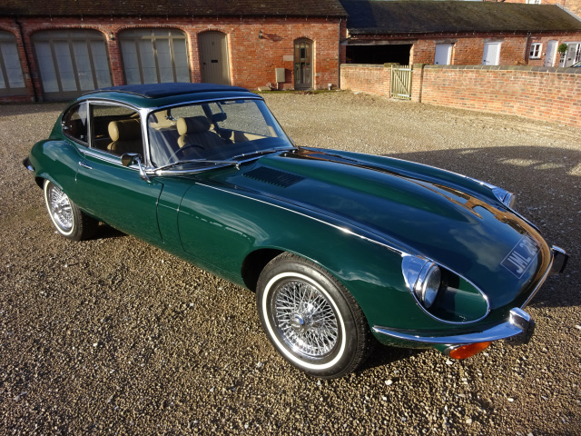 SOLD   -   SOLD   -   SOLD   -   JAGUAR E-TYPE SERIES 3 V12 2+2 COUPE AUTO 1971 - COVERED 19,912 MIL