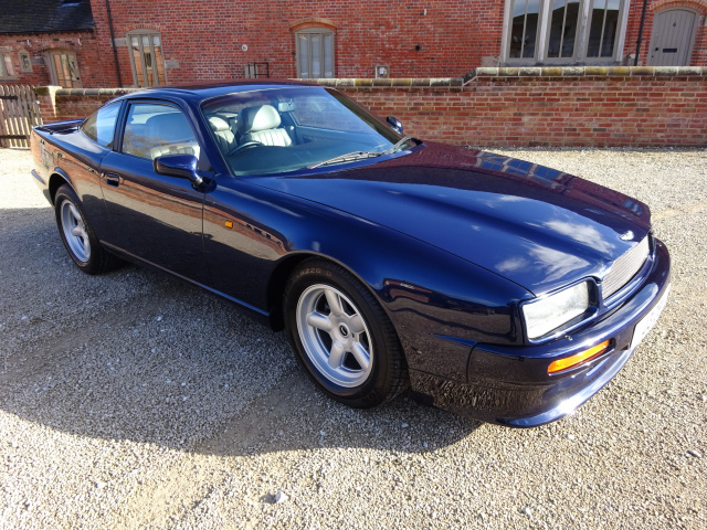 ASTON MARTIN VIRAGE 5340CC V8 AUTOMATIC 1991 - COVERED ONLY 38,000 MILES FROM NEW - FINISHED IN META