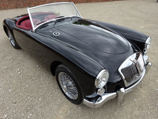 SOLD   -   SOLD   -   SOLD   -  MGA ROADSTER 1959 - FULL GROUND UP RESTORATION COMPLETED JUNE 2017 T