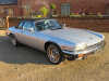 JAGUAR XJS-C V12 5343CC CABRIOLET TARGA AUTO LHD- 1988 - COVERED 14K KLM / 9K MILES FROM NEW WITH 1 OVERSEAS OWNER FROM NEW (JAPAN) - FINISHED IN TALISMAN SILVER WITH BLACK HOOD & HOOD COVER WITH  CONTRASTING WARM CHARCOAL HIDE INTERIOR