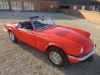 TRIUMPH SPITFIRE 1500CC - 1981 - COVERED 63K MILES FROM NEW - FINISHED IN ITS ORIGINAL PAINT VERMILLION (EXCELLENT) WITH CONTRASTING BLACK INTERIOR