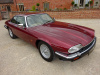JAGUAR XJS 4.0 AUTO (JUNE) 1992 COVERED  34K MILES FROM NEW WITH 1 OVERSEAS (JAPAN) OWNER FROM NEW - FINISHED IN REGENCY RED MICA METALLIC WITH COTSWOLD TWEED INTERIOR