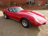 CORVETTE STINGRAY 5.7  AUTO C3 1976 - FINISHED IN RED WITH BLACK HIDE INTERIOR - STUNNING CAR