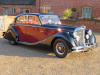 JAGUAR MKV SALOON - 3.5  6 CYLINDER  MANUAL -  8/9/1950 - COVERED 57K MILES BELEIVED GENUINE - FINISHED IN BLACK & CLARET COACHWORKS WITH RED HIDE INTERIOR